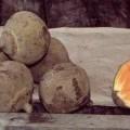 ovoce; poživatelný (jedlý); čerstvé; jako koule
