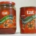 tomate; glas; konzentriert