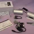 av aluminium; vattentät; med färg; objektiv; mikrofon; televisionskamera;…