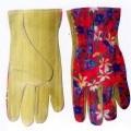 z textilního materiálu; rukavice; useň; ochranné rukavice