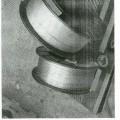от неръждаема стомана; студено формован; жици; навит/намотан