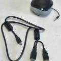 Portable Sound-Box - aus einem Einzellautsprecher, Tonfrequenzverstärker und Akkumulator in einem Gehäuse   (Abmessungen: 70 x 70 x 48 mm) mit 3,5 mm Klinkenstecker und USB-Schnittstelle, ...