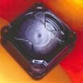 Sog. Horizontal Wafer Shipper - in Form eines spezifisch geformten, zweiteiligen, semihermetisch verschließbaren Aufbe-   wahrungs- und Transport-Behälters aus Kunststoff (Abmessungen L x B...