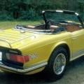 produktet er et brugt motorkøretøj af mærket, triumph tr2t, årgang…