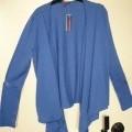 polyester; avec ouverture complète; gilet; pour femmes; en bonneterie;…