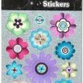 z plastu; s tištěným vzorem; k dekoraci; květy, části rostlin;…
