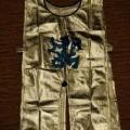 met elastiek; gebreid; voor kinderen; zilver; andere kledingstukken