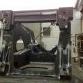 iz kovine; jekla; okvirji; generatorji; varjen; turbine