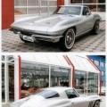 Gebrauchter Personenkraftwagen, mit Hubkolbenverbrennungsmotor mit Fremdzündung und einem Hubraum von 5.351 ccm, Typ Chevrolet Corvette Sting Ray, Fahrgestellnummer 943768100119, Baujahr 1965. Das...