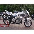 motocykle; za pomocą silnika benzynowego; do przewozu osób; nowy;…