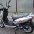 motocykle; za pomocą silnika benzynowego; do przewozu osób; skutery;…