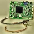 Signalverarbeitungsplatine eines LCD-Monitors - aus einer mit monolithischen integrierten Schaltungen sowie weiteren aktiven und passiven   diskreten Bauelementen bestückten gedruckten Schaltung...