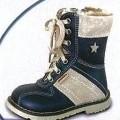 z usne; z kaučuku; topánky; obuv; šnúrovacia obuv; detské topánky