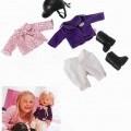 """Sog. """"Baby born Reiteroutfit"""" Es handelt sich um ein Set mit einem Reitoutfit in Form von Puppenbekleidung aus Spinnstoff. Die Bekleidung, die erkennbar hauptsächlich für ca. 43 cm..."""
