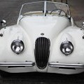 1953 JAGUAR XK120 SPORTSCAR. IN ORIGINAL CONDITION. LHD. 3.4L PETROL ENGINE. WHITE BODYWORK WITH BEIGE INTERIOR. OF A TYPE NO LONGER IN PRODUCTION. RELATIVELY RARE. FOR USE AT SHOWS WITH LIMITED...