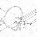 de acero; para uso en el exterior; antena; para recepcion por…