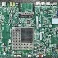 Hauptplatine eines  LCD-Fernsehempfangsgerätes - aus  einer mit Audio- und Videosignalelektronik mit MPEG-Decoder, D/A-Wandler und weiteren     Bauelementen bestückten gedruckten Schaltung...