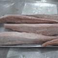 zamrożony; tuńczyk; surowy; ryby; filetowany