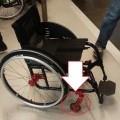 iz aluminija; invalidski vozički; aluminijeve zlitine