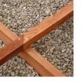 artykuły z drewna; do użytku na zewnątrz; drewno liściaste