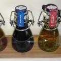 warenzusammenstellung; fett; essig; öl; olivenöl; rosmarin