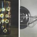 aus kunststoff; elektrisch; aus glas; lampe; led; tischlampe