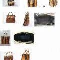 kabelky (dámské); se zapínáním na zip; useň; s vnitřní kapsou;…