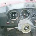 aus metall; gebraucht; mit motor; personenkraftwagen; rennwagen