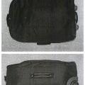 z textilního materiálu; se zapínáním na zip; upraveno pro drobný…