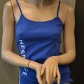 van katoen; met logo; hemden; omzoomd; gebreide artikelen