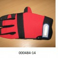 Arbeits-/Schutzhandschuh - bestehend aus einer feinen Wirkware aus synthetischen Filamentgarnen auf Polyesterbasis - innenseitig gefüttert mit einer Wirkware aus Filamentgarnen, - im Pulsbereich...