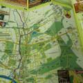 tištěné; reklamní/propagační materiál; papír; mapy; skládací/sklápěcí