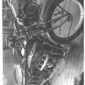 henderson motorcykel m/sidevogn - årgang 1923.  motorcyklen…