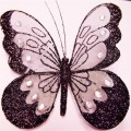 of textile material; butterflies; of metal; with decoration;…
