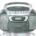 Musik-System - aus einem FM/AM-Tuner, CD-Player mit Laserabnehmersystem, Kassettenlaufwerk,    Tonfrequenzverstärker, Lautsprechern, Antenne in einem Gehäuse (Abmessungen:    246 x 300 x 156...