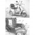 """a termék """"tc-016"""" elektromos meghajtású moped.  három egyforma…"""