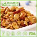solené; pepř; pražené; palmový olej; ořechy; vakuově baleno