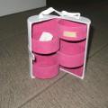 doboz; textil anyaggal