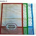 z tkaniny; s tištěným vzorem; tkaniny z bavlny