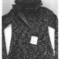 with hood; of polyester; knitted; with sleeves