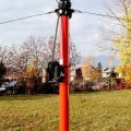 steklena vlakna; za dvigovanje; teleskopski; s priborom za sestavljanje