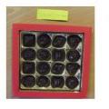 įdaryti; supakuoti mažmeninei prekybai; šokoladas; saldainiai;…