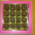 įdaryti; pieninis šokoladas; supakuoti mažmeninei prekybai; saldainiai;…