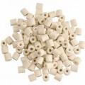 z keramiky; s otvorem; kroužky, tvar; pro filtrování kapalin;…
