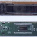 panou indicator; module lcd