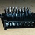 elektrický; puzdrá; konektory; elektrickými kontaktami