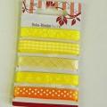 aus gewebe; aus chemiefaser; aus polyester; band; mit echten…