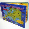"""Bei der vorgelegten, als """"Puzzlebuch"""" bezeichneten Ware handelt es sich um ein Buch aus Pappe (Format etwa 34,0 x 24,5 cm, Umfang zwölf Seiten einschließlich der Deckelinnenseiten)..."""