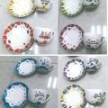 s uchem; šálky, hrnky; z porcelánu; kuchyňské a stolní výrobky