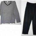 schlafanzug; aus baumwolle; ohne öffnung; gewirke; unisex